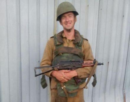 Бойовик із Білорусі Сергій Трофимов