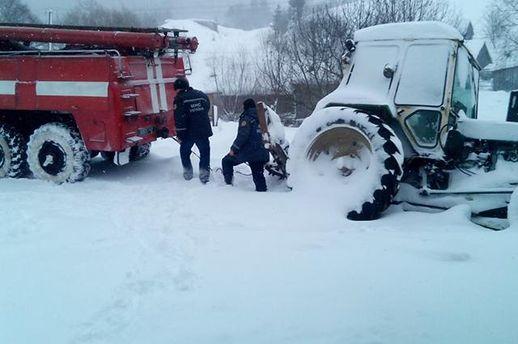 Непогода на Закарпатье