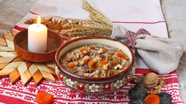 Классическая кутья из пшеницы и с сухофруктами