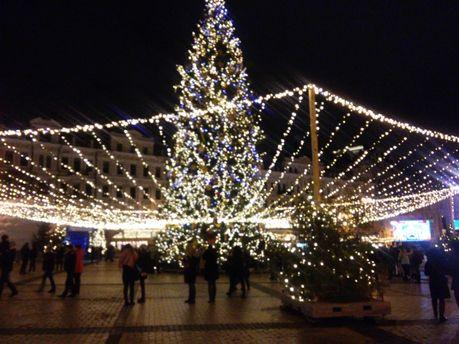 Главная елка Украины в Киеве