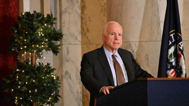 Бездеятельность США побудила В. Путина вмешаться вамериканские выборы— Маккейн
