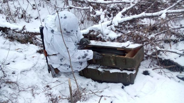 Российское оружие на Донбассе