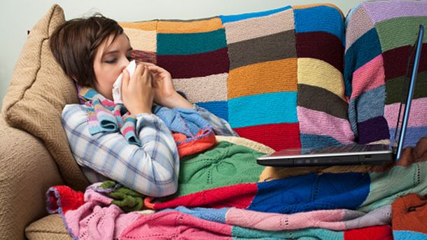 Більшість хворих на грип – діти до 17 років