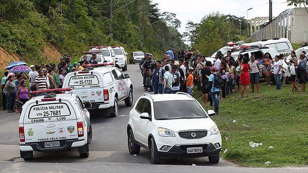 Сутички в тюрмі Бразилії