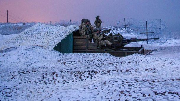Військові у зоні АТО