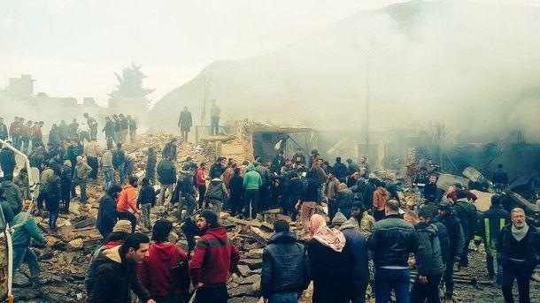 Сирию всколыхнул очередной взрыв