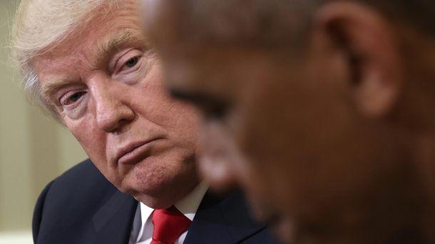 Дональд Трамп та Барак Обама