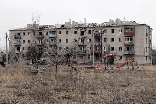 Покинутий будинок на Донбасі