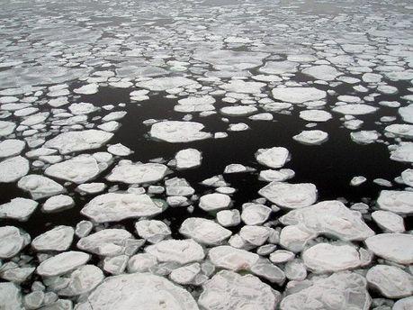 Річка замерзає