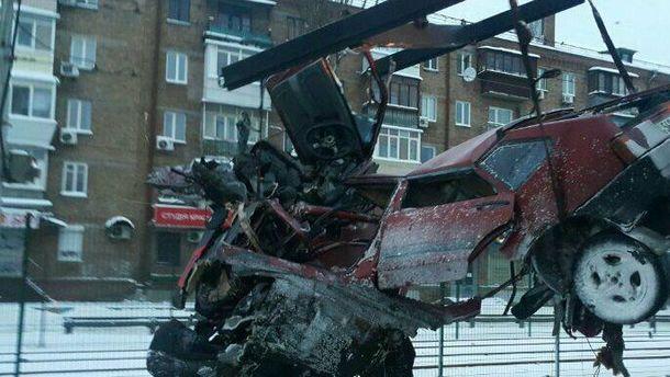 Смертельное ДТП на улице Комарова в Киеве