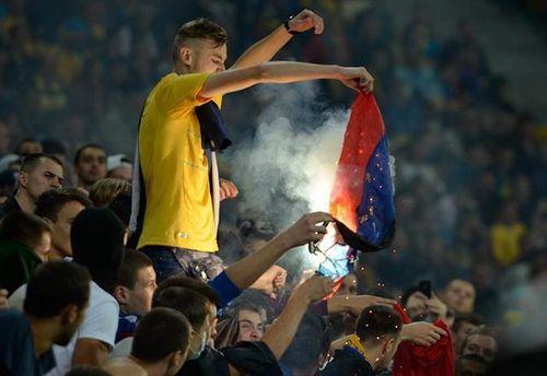 Спалення прапора