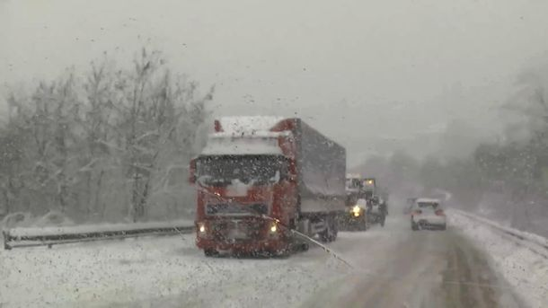 Негода в Україні стала причиною багатьох ДТП