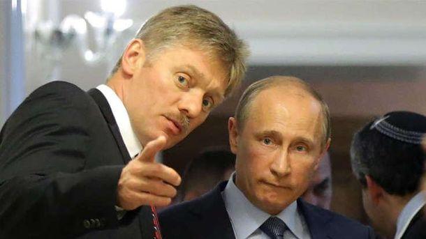 Дмитрий Песков и его шеф