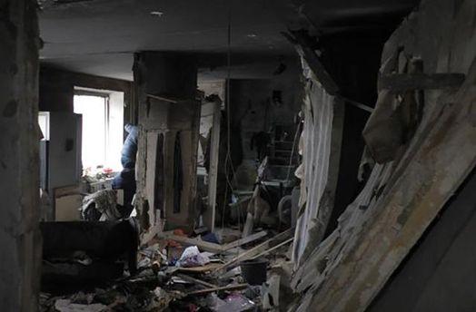 Последствия взрыва в квартире в Сумах