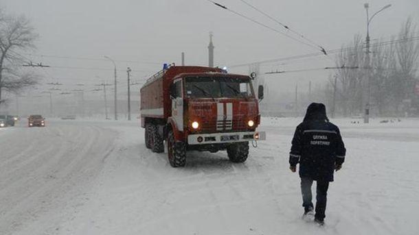 В Одесской области бушует непогода