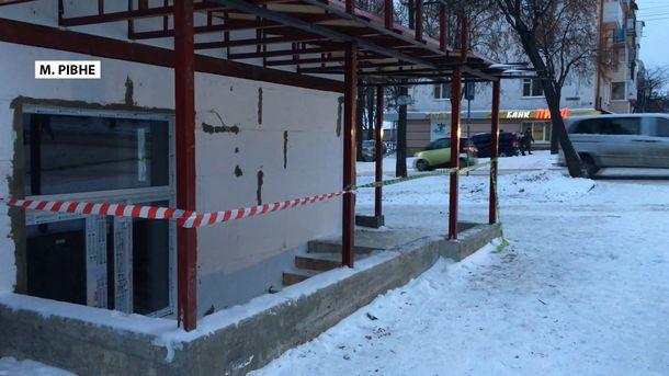 Магазин, в якому стався вибух, не постраждав