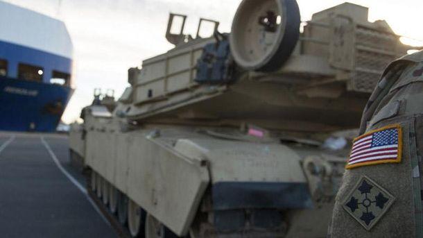 Військова техніка НАТО прибула до Польщі