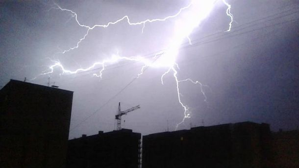 Прогнозируют дождевые бури