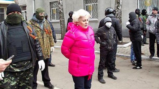 Штепа в окружении террористов Донбасса