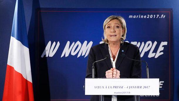 Марін Ле Пен може залишитися без презмдентського крісла