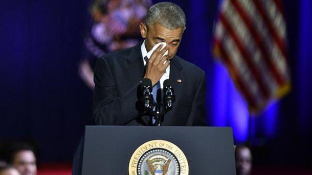 Так Обама дякував своїй дружині