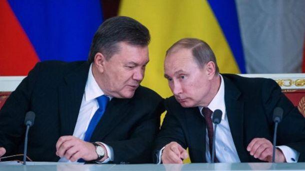 Янукович тайно встречался с Путиным