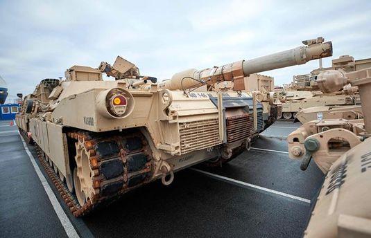 Американські танки у Польщі