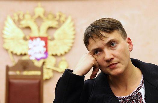 Надежда Савченко снова в центре внимания общественности