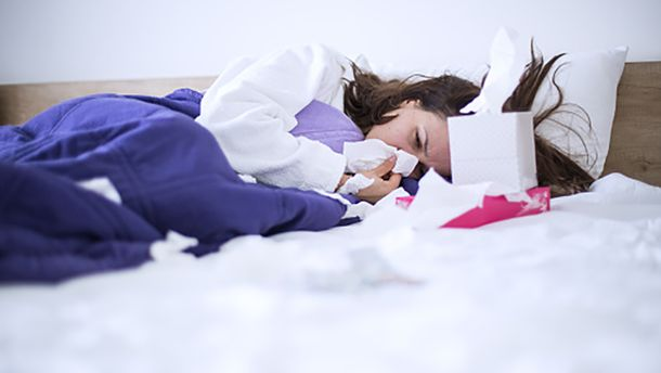 Рівень захворюваності на грип в Україні дещо зменшився
