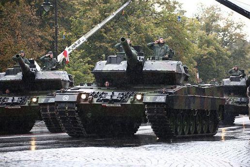 Американские танки в Польше