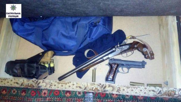 Житель Николаева хранил оружие