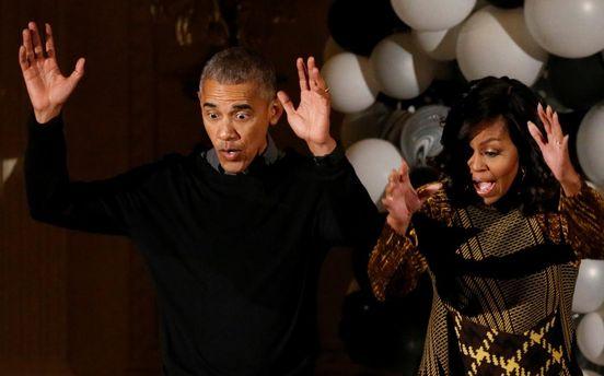 Барак та Мішель Обама