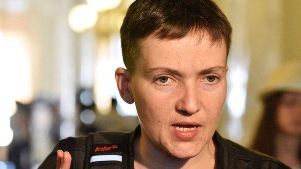 Надежда Савченко иллюстрирует, что власть не способна освободить пленных и заложников