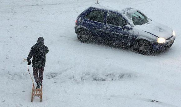 В Украине будет идти снег