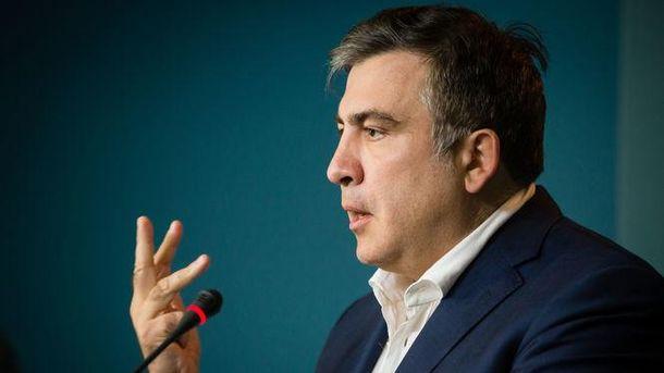 Саакашвили не подбирал слов в ответ Порошенко
