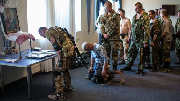 Террористы верят в Бога, но убивают украинцев