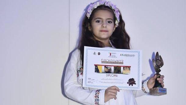 8-річна Марія перемогла на міжнародному фестивалі