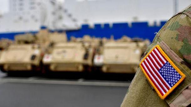Американские танки в Европе