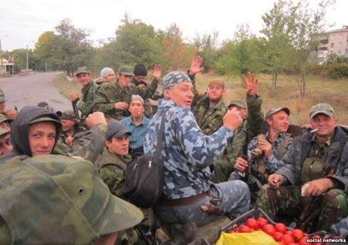 Боевики батальона
