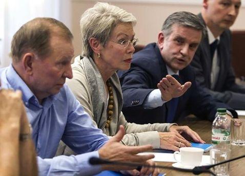Заседание Трехсторонней контактной группы