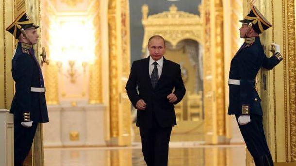Путин принимал главаря найманцев в Кремле