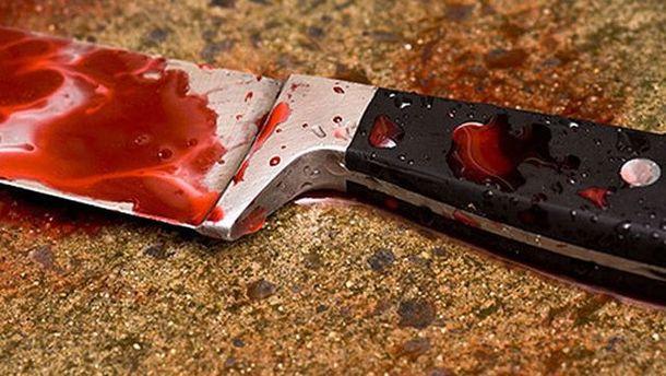 Закривавлений ніж