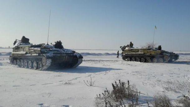 Украинские военные снова провели учения у Крыма