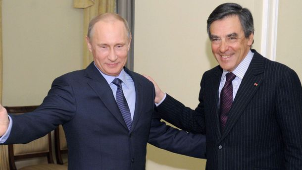 Фійон і Путін