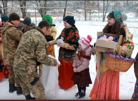 Дети щедровали бойцам АТО