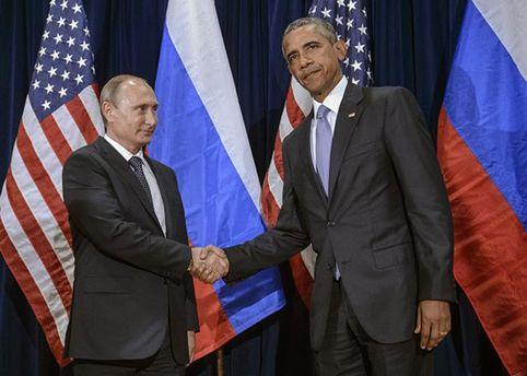 Путін з Обамою