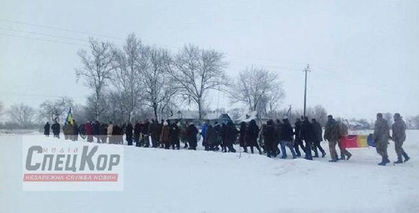 Похороны морского пехотинца