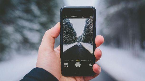 Як користуватись смартфоном на холоді