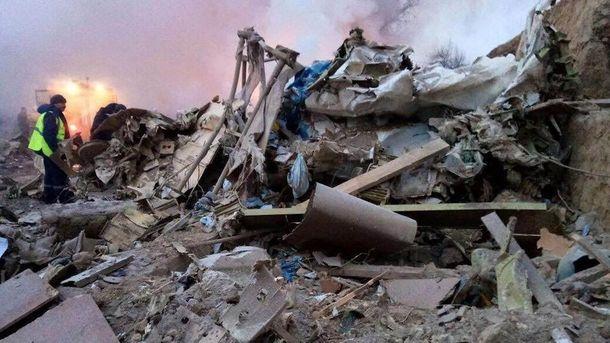 На месте авиакатастрофы в Кыргызстане
