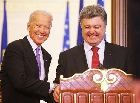 Байден с Порошенко